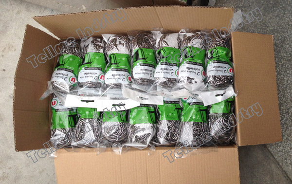 PP bags packing