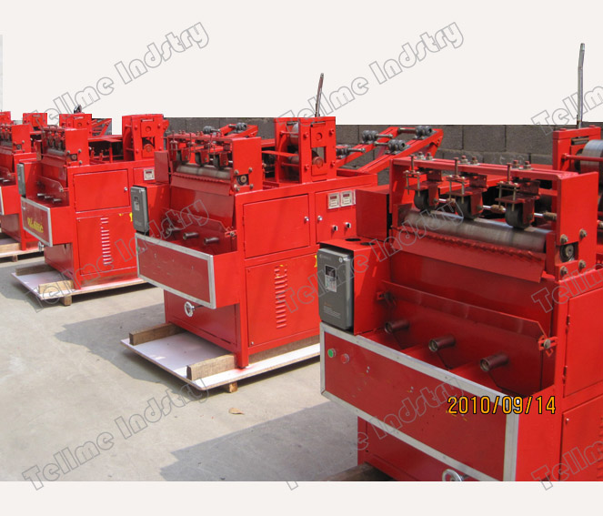 Round scourer making machine